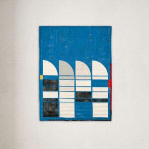 Bauhaus-Quilt Claudia Itzwerth