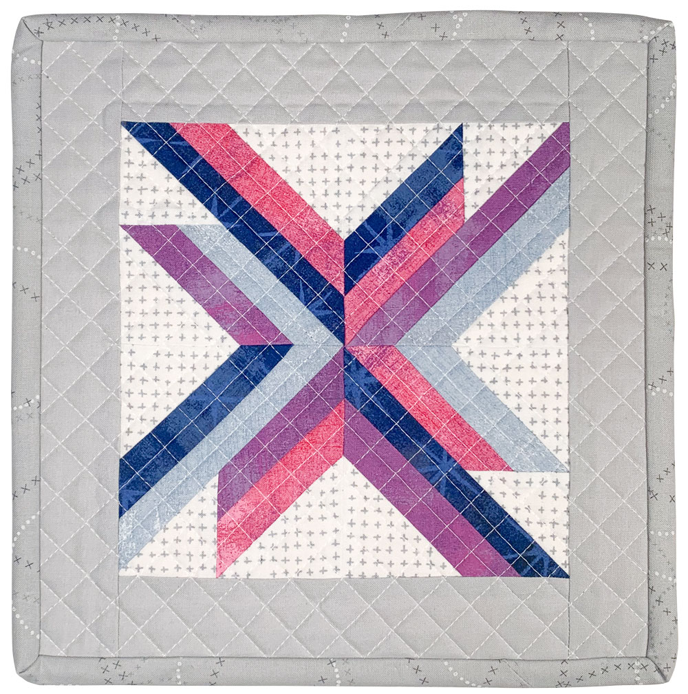 #minichristmasswap2020 Mini-Quilt