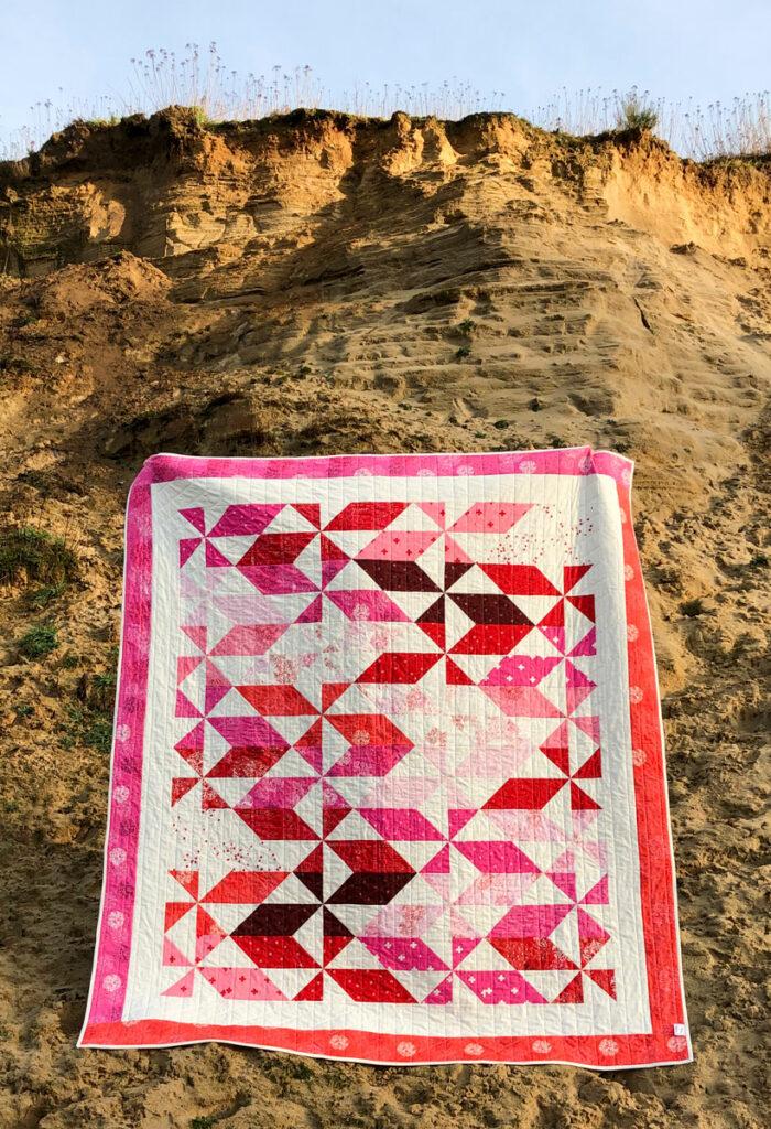 Joy-Quilt von Claudia Itzwerth