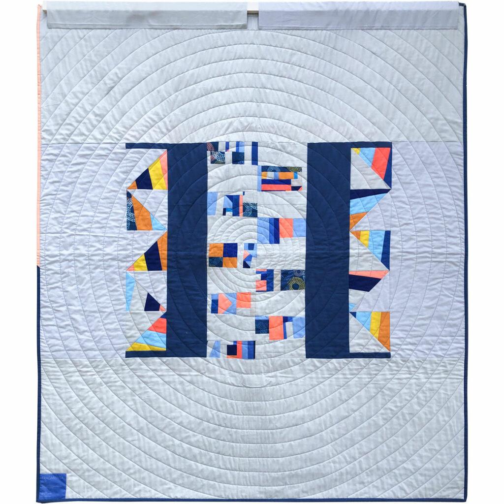 Fragmenta-Quilt Rückseite, Claudia Itzwerth