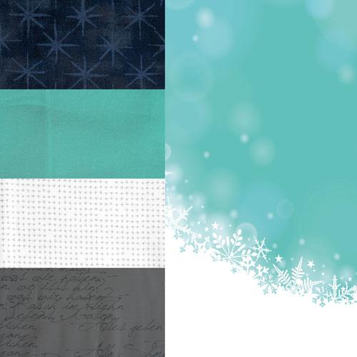 #minichristmasswap2020 Mini-Quilt Stoffauswahl 5