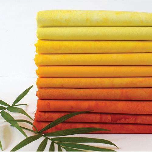 Anthology Fat Quarters-Bundle Batik Sunshine