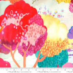 Moda Fanciful Forest Fanciful Scenic Watercolor