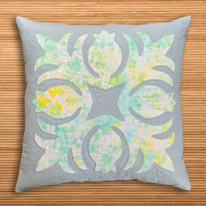 Hawaiian Appliqué Pillow Claudia Itzwerth