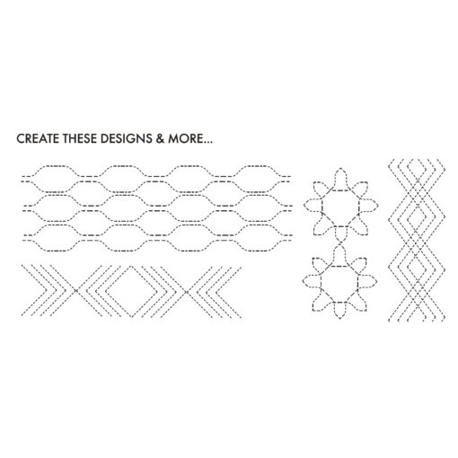 """Creative Grids Non-Slip Quilting Tool """"Chevy"""""""