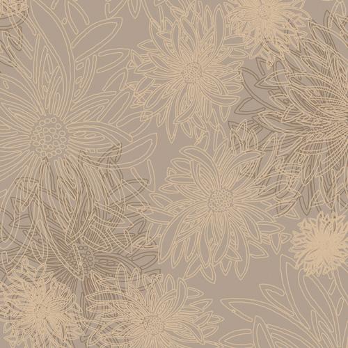 Art Gallery Fabrics Floral Elements Khaki