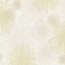 Art Gallery Fabrics Floral Elements Winter Wheat