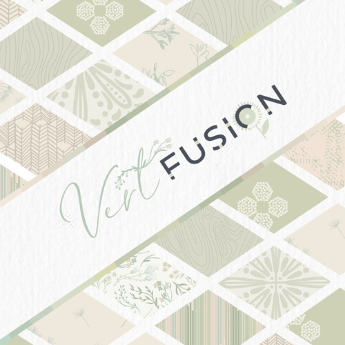 Art Gallery Fabrics Vert Fusion FQ-Bundle