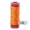 Aurifil 12 1133 Bright Orange