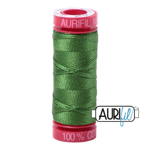 Aurifil 12 5018 Dark Grass Green