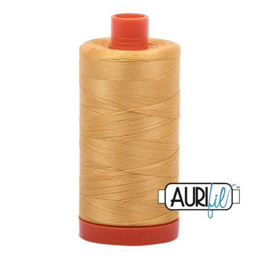 Aurifil 50 2134 Spun Gold