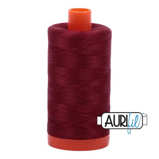 Aurifil 50 2460 Dark Carmine Red